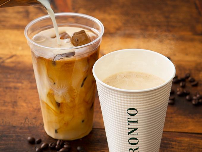 たっぷりミルクコーヒー(ホット・アイス)