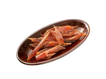北海道産秋鮭の燻とば